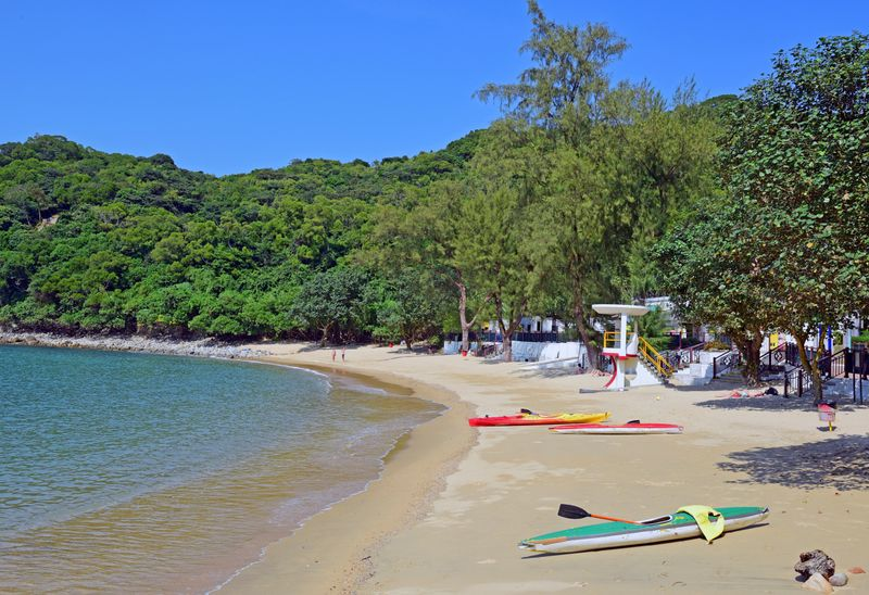Lo So Shing Beach Lamma Island